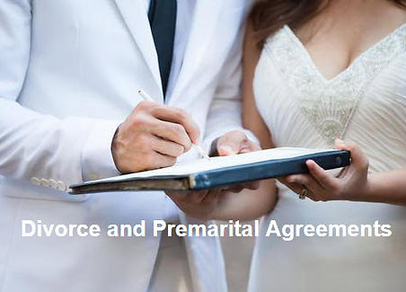 Divorce and Premarital Agreements