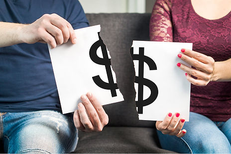 Top 3 divorce expenses splitting property