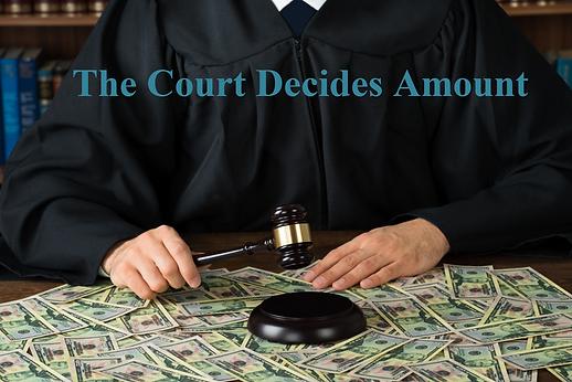 Court Decides Alimony Amount