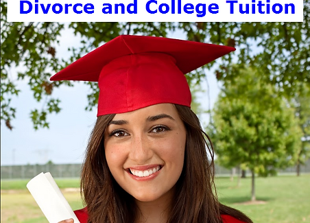 Divorce and College Tuition