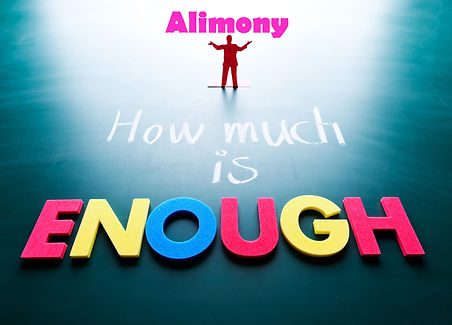 How Much Alimony Is Enough