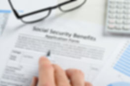Divorce and social security application form