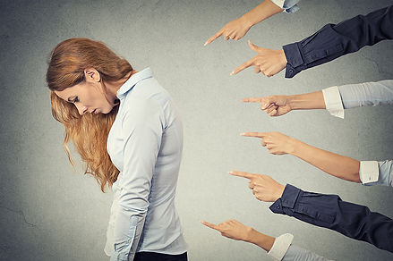 Impacts of Divorce No One Tells You Finger Pointing at Divorced Woman, Impacts of Divorce No One Tells You, effects of divorce, symptoms of divorce, results of divorce, what divorce causes