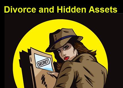 Divorce And Hidden Assets