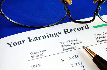 Divorce and social security earnings