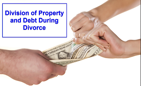 Property and debt division