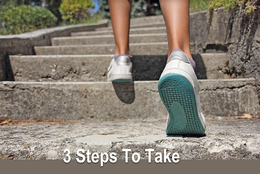 3 Steps To Take