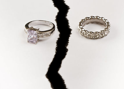 wedding rings after divorce
