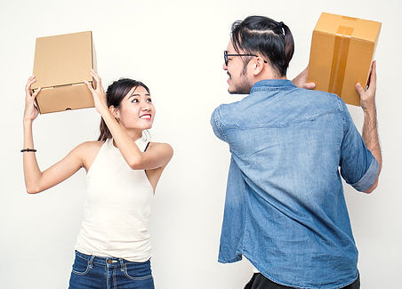 Moving out during divorce