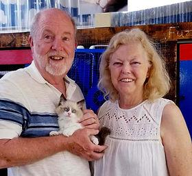 Shirley and David Quinn of Richardson Tx got a Ragdoll they named PHTHAO BLUE