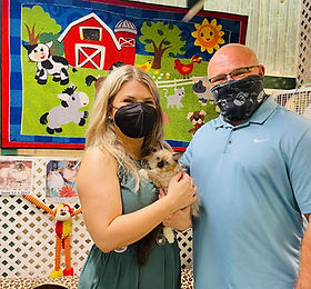 """Taylor & Kirk Miller came on 9-12-21 from San Antonio to adopt her favorite Ragdoll she named """"FANCY""""."""