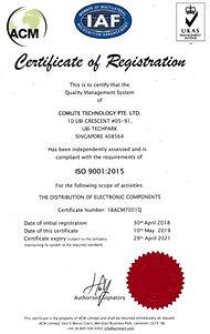 ACM ISO cert