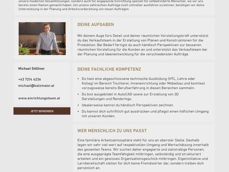 Technischer Planer für Arbeitsvorbereitung und Verkauf (m/w/x)