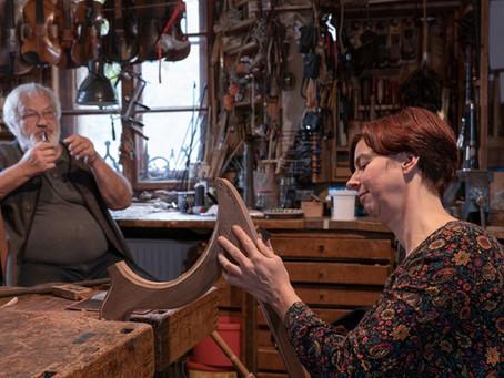 Instrumentenbauer aus tiefstem Herzen