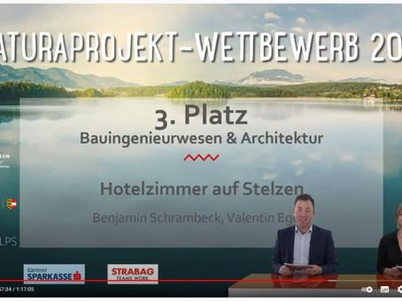 Maturaprojekt von Schrambeck und Egger ist ausgezeichnet!