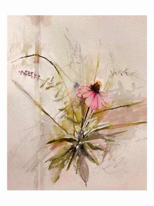 """Summer Bouquet, 8"""" x 10"""" Print"""