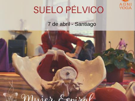 Taller de suelo pélvico · 7 abril · Santiago