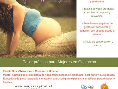 Cuidados del suelo pélvico en la gestación (Santiago)