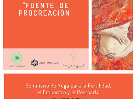 Seminario de Yoga para la fertilidad, embarazo y post-parto