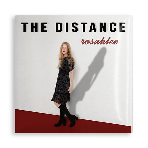 """The Distance, official cover, 2"""" square pin"""