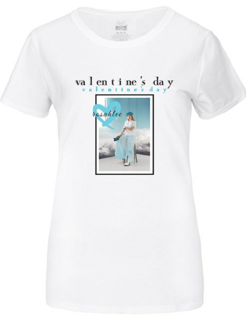 valentine's day t-shirt; Ladies