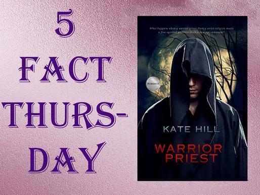 Five Fact Thursady -  A match made in Heaven or Hell? #katehillromance