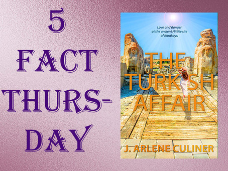 Five Fact Thursday: The Turkish Affair by @JArleneCuliner