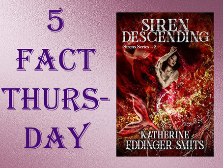 5 Fact Thursday - Siren Descending by Twitter: @katherinesmits #paranormal #mermaid #Freebie