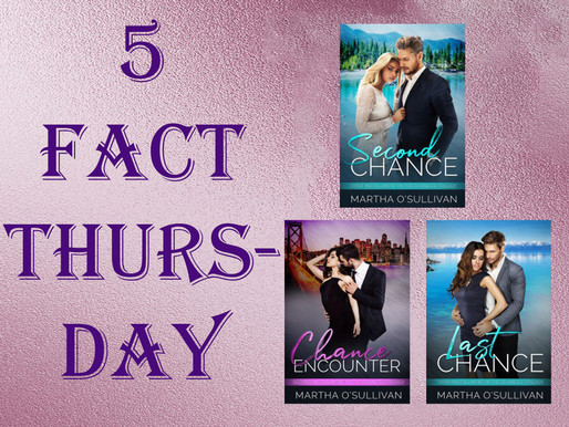 Five Fact Thursday - Lake Tahoe , Setting for The Chances Trilogy