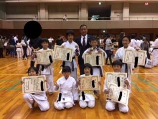 第64回奈良県空手道選手権少年大会