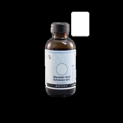 An alpha hydroxy acid epidermal peeling agent that reduces the cohesive bonds between corneocytes.