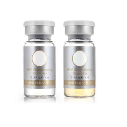 Clinical use BENEV MPF concentrate, is designed to fight the signs of aging and sun damage, and reactive oxidative stress.