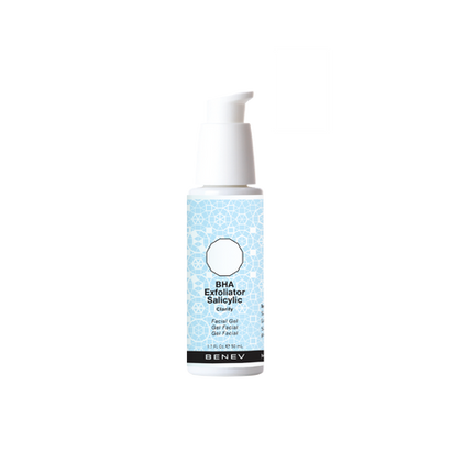 Superficially peels skins and deep cleans pores with a beta-hyroxy exfoliant, uncovering fresh, healthy skin.