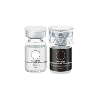Intensive dual action complex formulated to absorb quickly into the skin delivering the concentrated power of 5 billion stem cell derived Lyophilized Exosomes, potent Growth Factors, Peptides, Coenzymes, Minerals, Amino Acids, and Vitamins