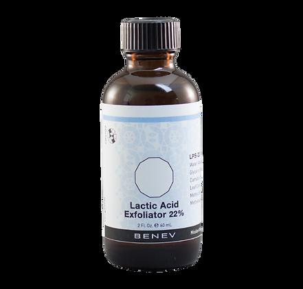 Lactic Acid Exfoliator 22%