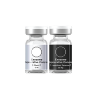 Intensive dual action complex formulated to absorb quickly into the skin delivering the concentrated power of 2.5 billion stem cell derived Lyophilized Exosomes, potent Growth Factors, Peptides, Coenzymes, Minerals, Amino Acids, and Vitamins