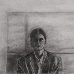 With Blinds Drawn (Self-Portrait no.5)