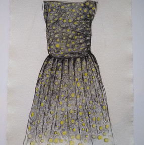 Spots of Time II (Mum's Dress, 1960)
