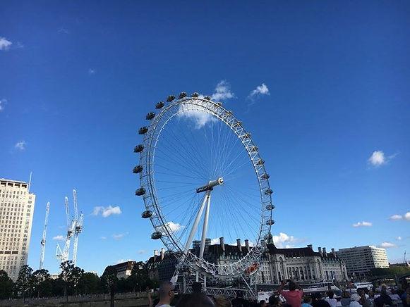 London Eye in downtown London