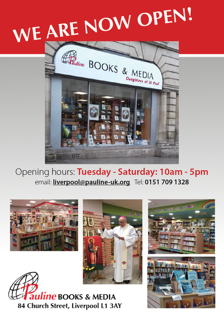 Opening of our New Liverpool Book Centre