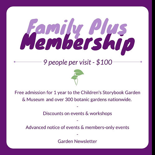 Family Plus Membership