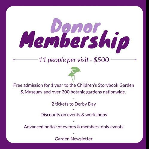 Donor Membership