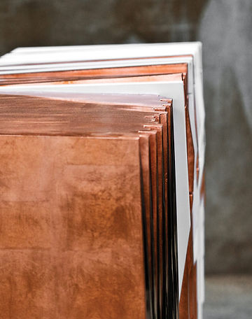 Utopia 04 Console Table - side view perspective