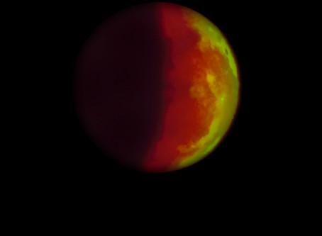 Blood Moon over Eighty Acres