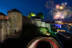 Fireworks 21 july - Belgium