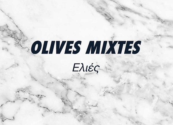 OLIVES MIXTES – 250g.