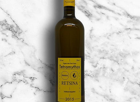 RÉTSINA DIMITRIS BIO Vin résiné - 75cl.