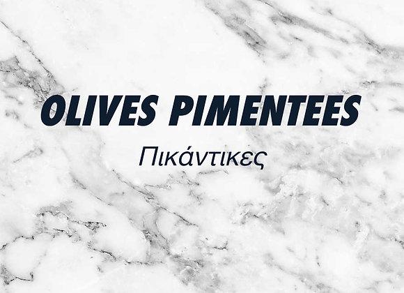 OLIVES PIMENTÉES – 250g.