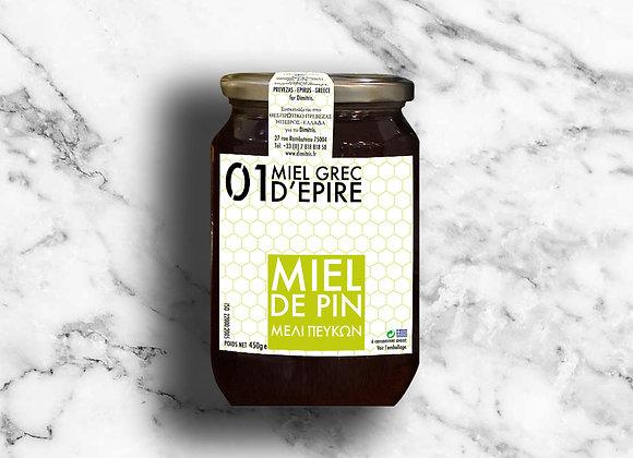 MIEL DE PIN 450G – Μελι πευκων.