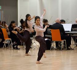 Kathak, ballet & contemporary fusion